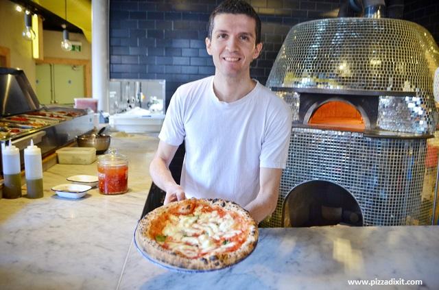 Ply Manchester pizzaiolo Alessandro Iavarone