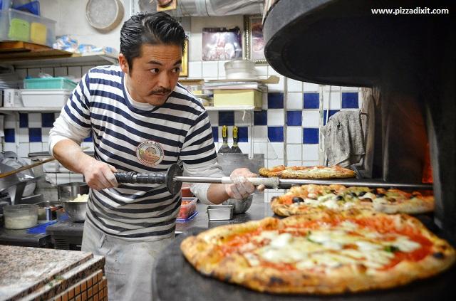 Hisanori Yamamoto Da ISA pizzeria Tokyo