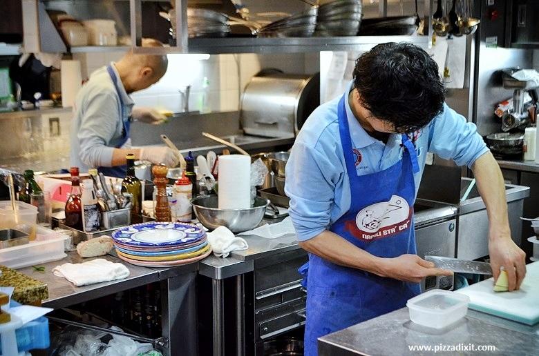 Napoli Sta Ca Komazawa pizzeria Tokyo cucina