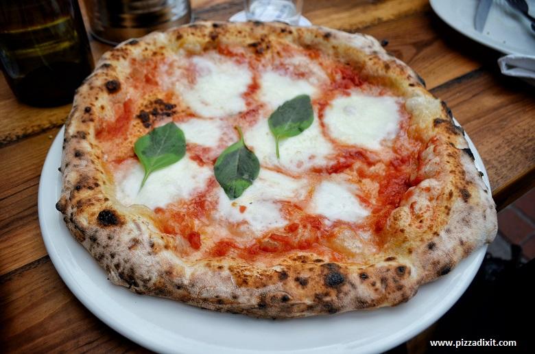 Fatto a Mano North Laine, Brighton, pizza Margherita