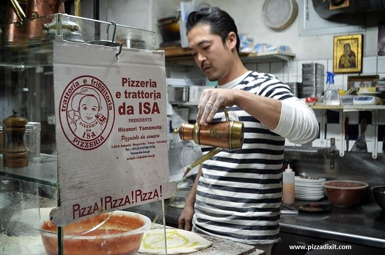 Da Isa Tokyo Hisanori Yamamoto pizzaiolo napoletano