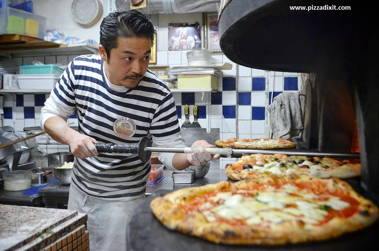 Da Isa Tokyo pizzeria napoletana Hisanori Yamamoto