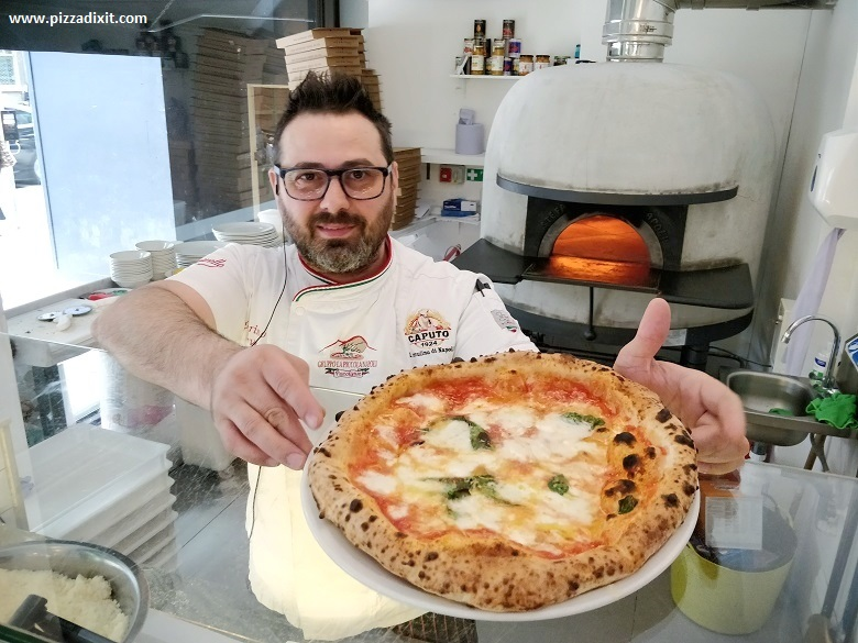 'O Ver pizzeria Londra Southwark Marino Bove