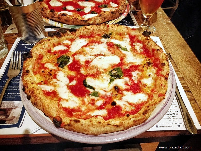 Pizzeria Pellone Clapham Londra pizza Margherita