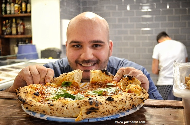 Napoli On The Road Chiswick neapolitan pizza London