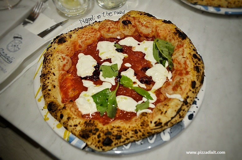 Napoli On The Road Chiswick pizza Marg