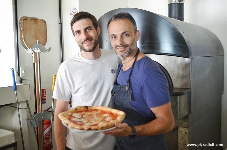 La Fabbrica di Marco, Toulon, Pizzaioli Marco e Emanuele