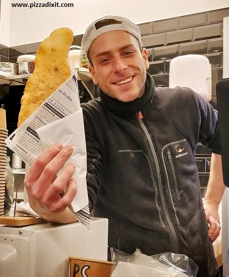 Malafritta pizza fritta Berlino