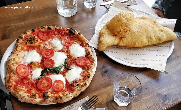 Laboratorio Pizza Brick Lane pizzeria napoletana e pizza fritta