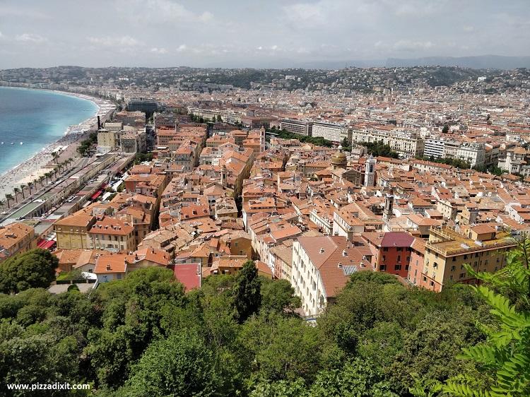 Dove mangiare la pizza napoletana a Nizza, Francia