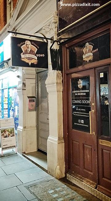 L'Antica Pizzeria Da Michele Londra Soho