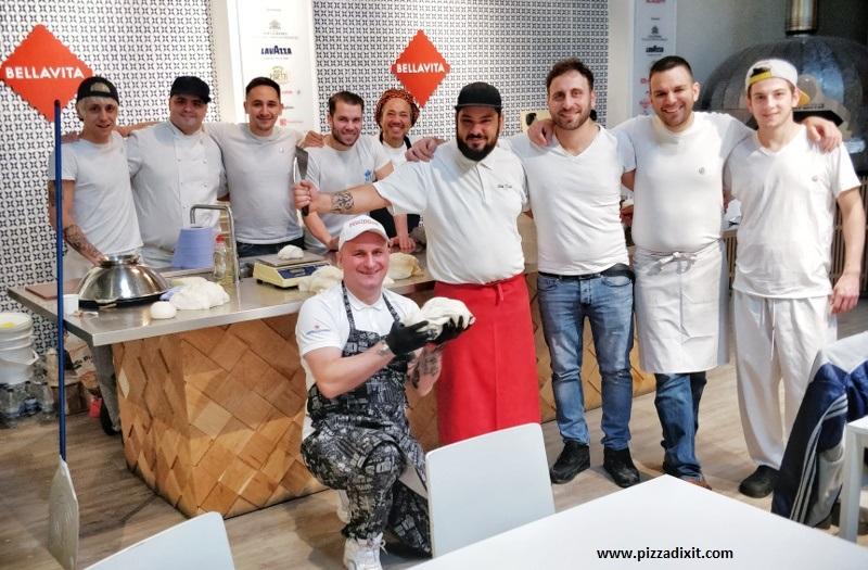 Pizzaioli in UK evento Corran's Hopes Bellavita Shop Londra