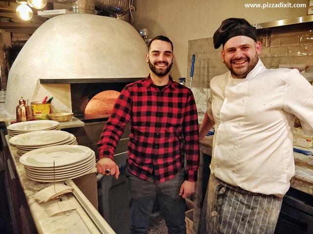 Cinquecento pizzeria napoletana Londra Emanuele Taglierina e Carmelo Meli